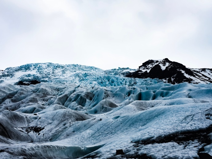 hike sul ghiacciaio