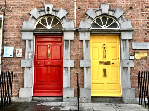 kilkenny coloured doors